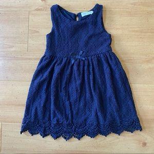 H&M Toddler Navy Blue Dress